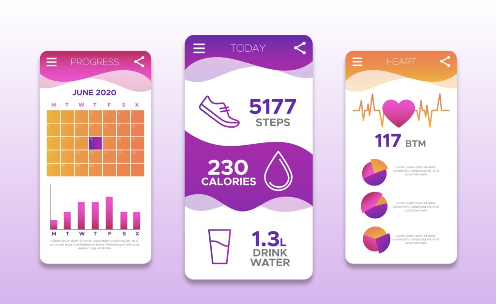 Health & Fitness Tracking App