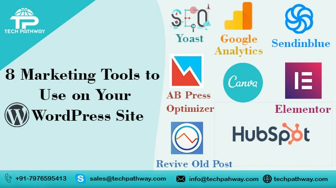 Best Marketing tools to use for WordPress site