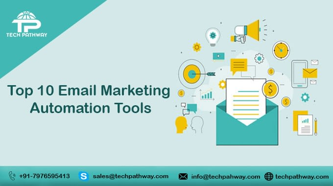 Top 10 Email marketing automation tools.
