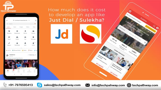How to develop an app like Just-dial and Sulekha