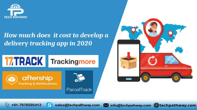 How much does it cost to develop an on demand delivery tracking app