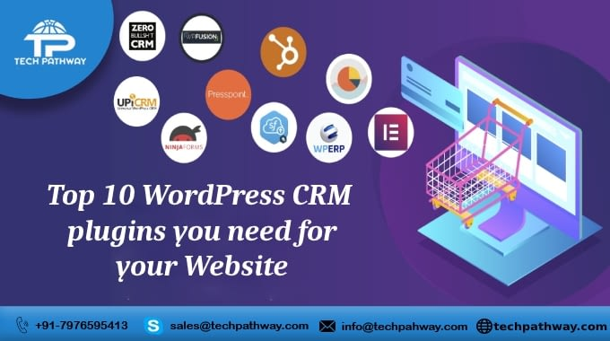 Top 10 WordPress CRM plugins you need for your Website