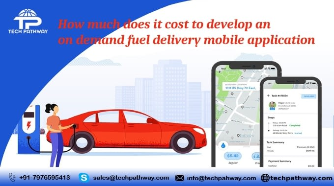 How much does it cost to develop an on-demand fuel delivery application