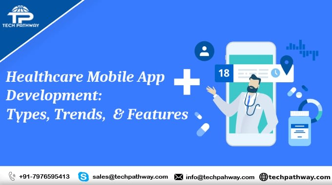 On-demand Healthcare Mobile App Development: Types, Trends, & Features