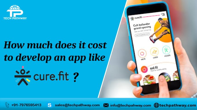 How Much Does it Cost to Develop a Cure.Fit Fitness and Healthcare App ?