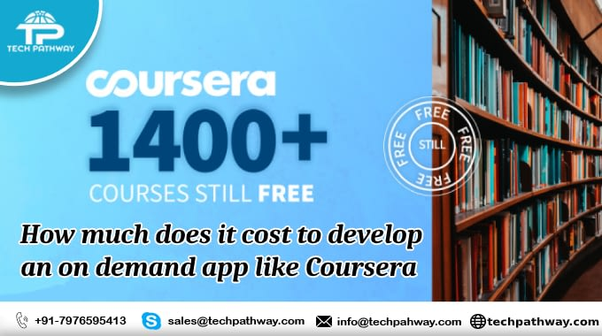 How much does it cost to develop an on-demand app like Coursera