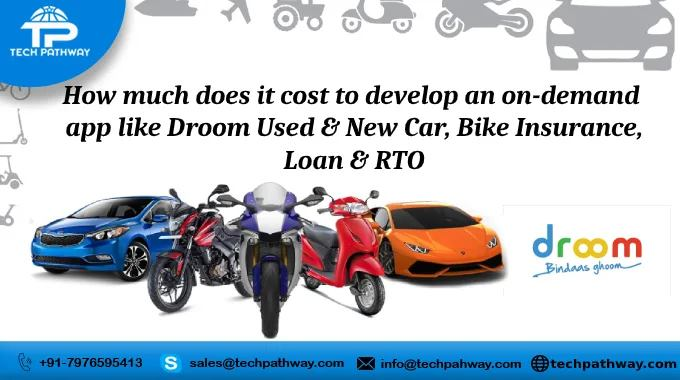 How much does it cost to develop an on-demand app like Droom used & new car