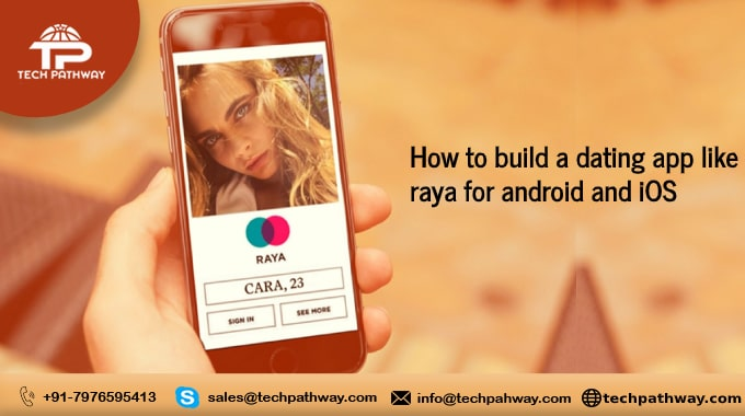 How to develop a dating app like Raya for android and iOS
