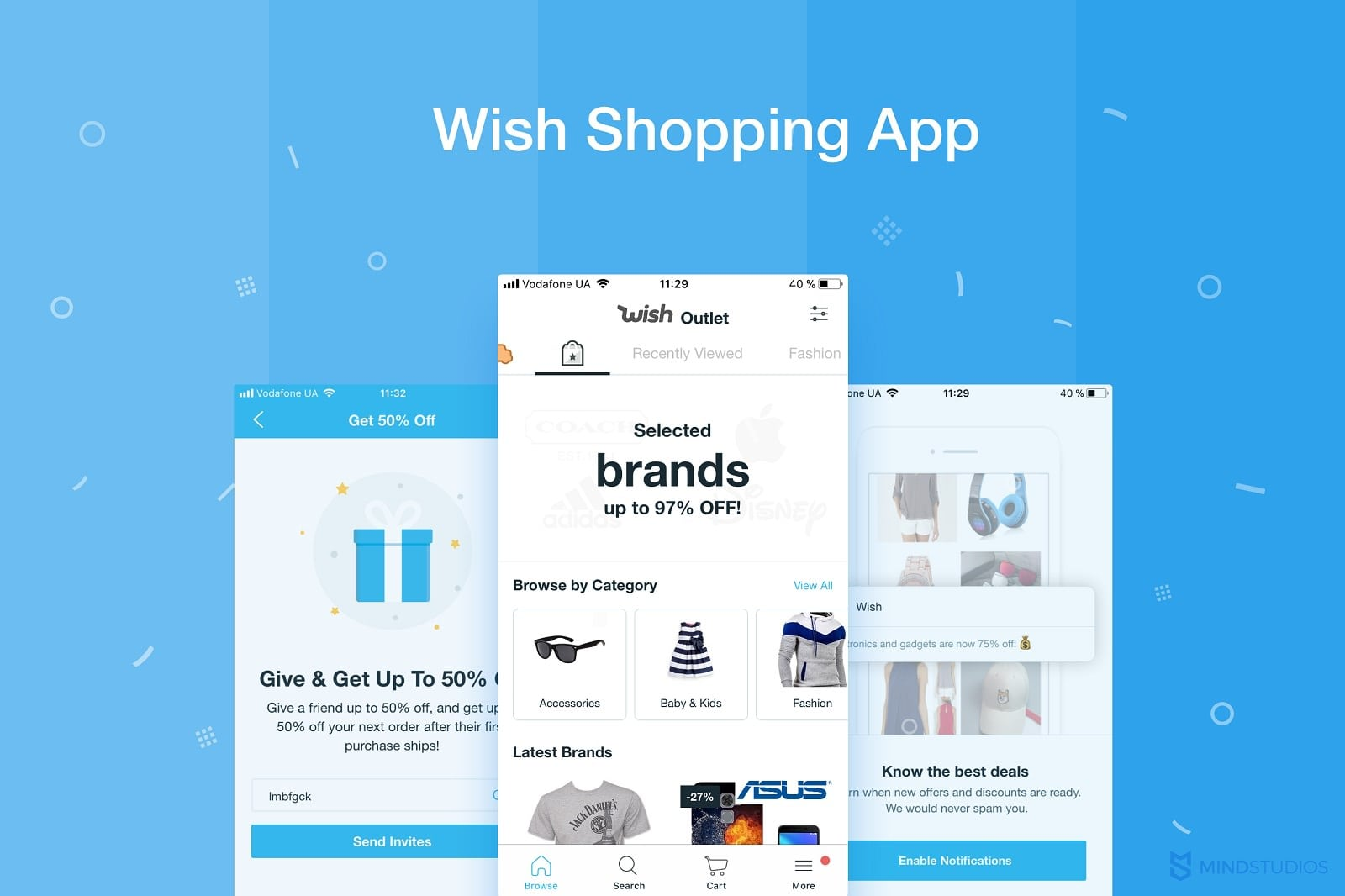 The history and business model of the Wish app