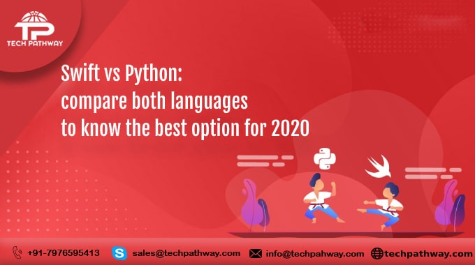 Swift vs Python: compare both languages to know the best option for 2020
