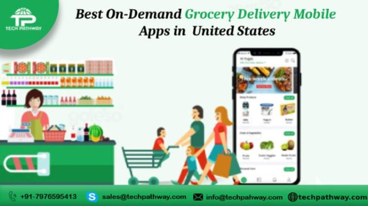 Best On-Demand Grocery Delivery Mobile Apps in United States