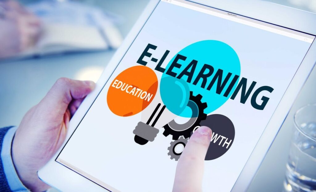 develop e-learning app